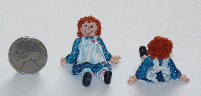Raggedy Ann front and back